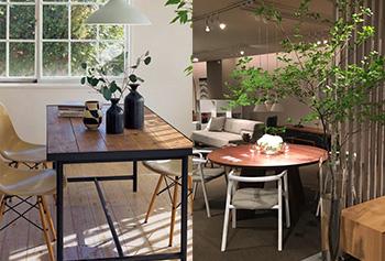 空間のためにしつらえられた家具